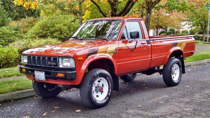 Toyota Tacoma 4X4 For Sale >> You Could Buy This Perfect 80's Classic For The Price Of A Nissan Versa