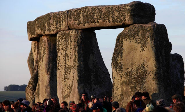 Mystery (Partially) Solved: Stonehenge Was a Complete Circle