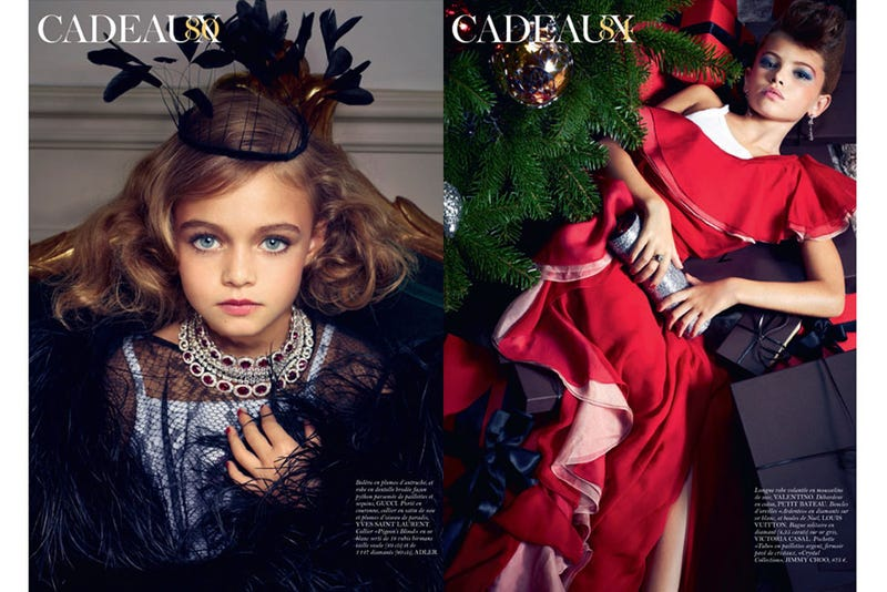 French Vogue Grooms Its Youngest Models Yet
