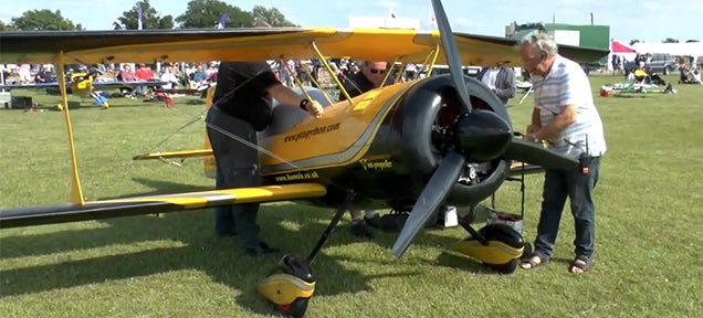 These awesome RC airplanes are so huge that you can fly a kid inside