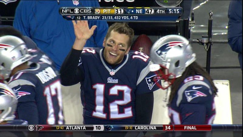 Tom Brady, Still Left Hanging