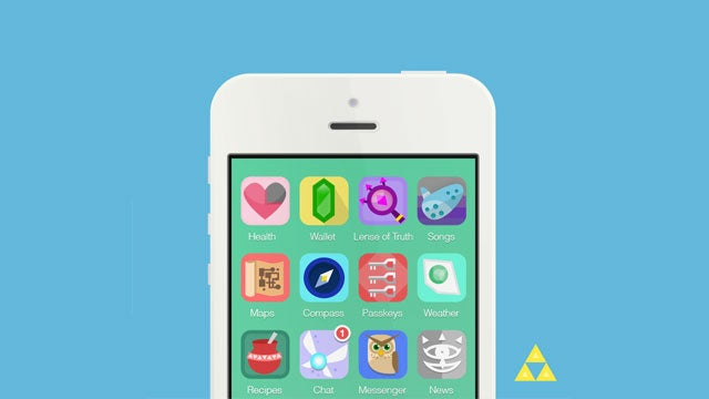 Link Can Now Save Zelda Using His...iPhone