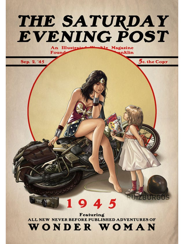 http://io9.com/superheroes-go-norman-rockwell-in-adorable-saturday-eve-1665631959