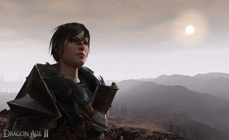 Dragon Age II's Hero Cleans Up, Becomes Female Real Nice
