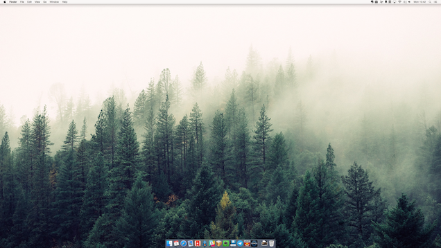 Cómo ocultar los iconos de tu escritorio con un solo clic?