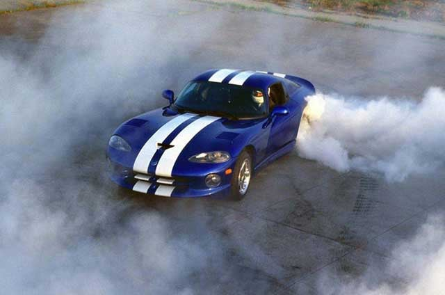 Ten Cars Built For Burnouts