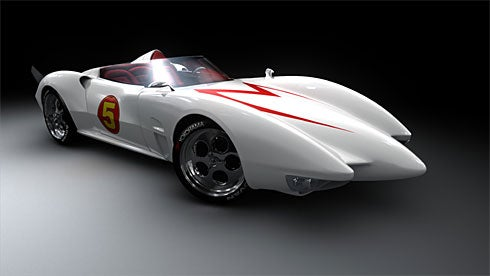 Speed Racer Car Sighted - It's Real, We Want