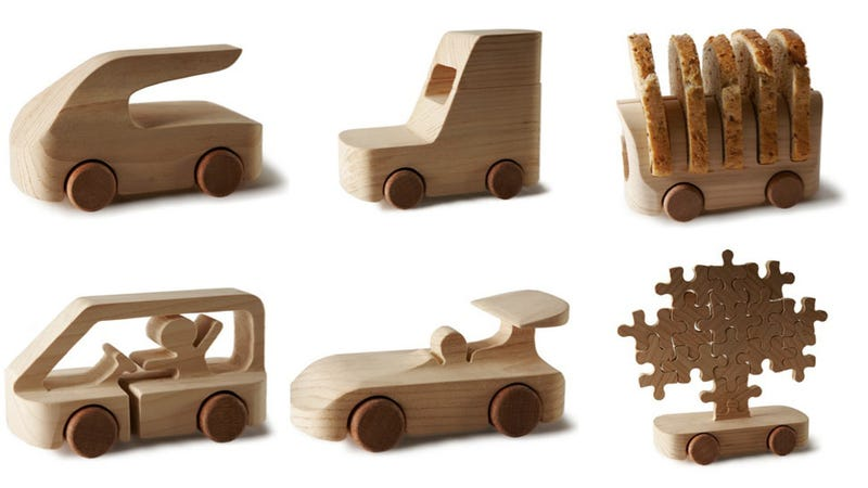 100 Fantastic Toy Cars Made By Fun-Loving Modern Designers