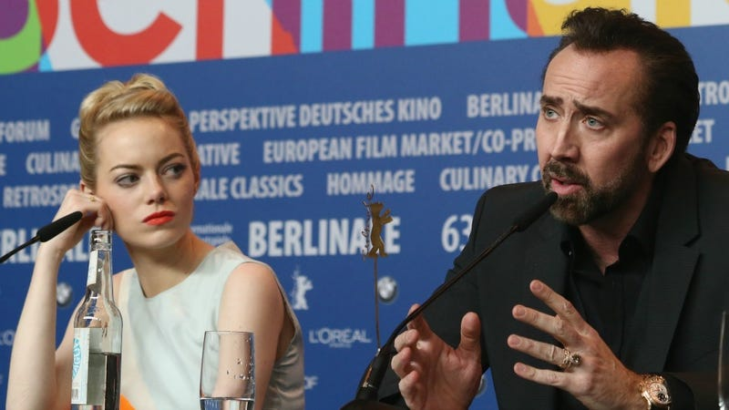Nic Cage Says The Darndest Things, Thinks Emma Stone