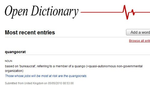 Open Dictionary Is a More Reliable, Cleaner Urban Dictionary