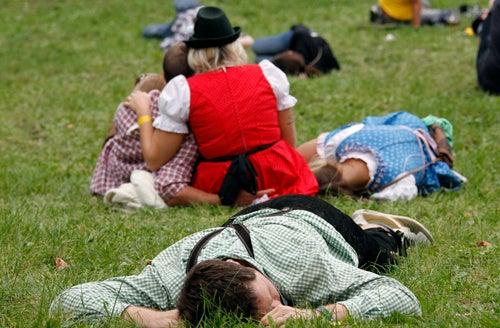 Oktoberfest Sneaks Up On the Lederhosened Masses