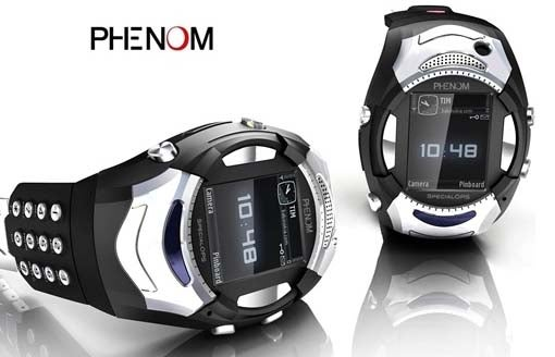 Phenom SpecialOps Cellphone Watch: A Tacit Booyah