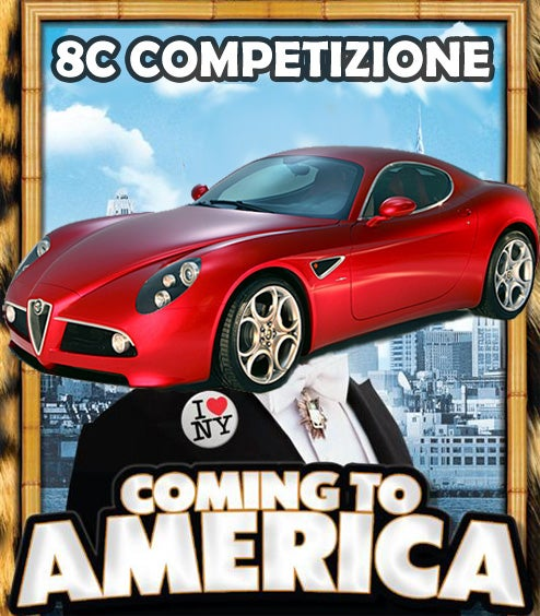 Alfa Romeo Officially Returns To US Market This Month With 8C Competizione