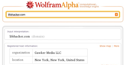 First Look at Wolfram Alpha's Impressive (and Fun) Knowledge Computation