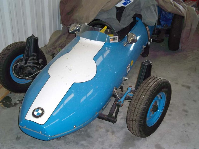 Formula Junior BMW To Be Brought Back To Life By Restorer Of Eddie Griffin Enzo