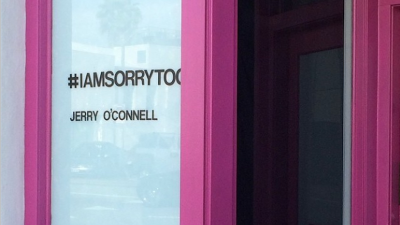 Jerry O'Connell Sets Up Art Exhibit Next Door to Shia LaBeouf
