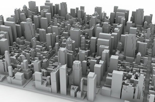 This Inception-Inspired Silicon Skyline Is a Delightful Dish Rack