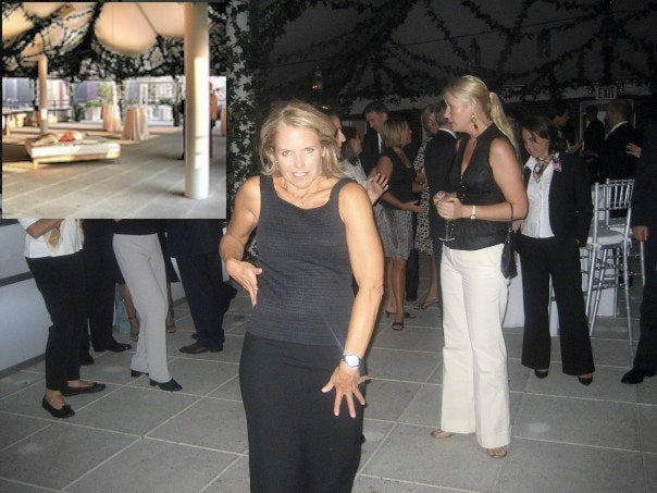Update: Katie Couric Celebrated Her First CBS Anchor Broadcast with a Dance of Gin