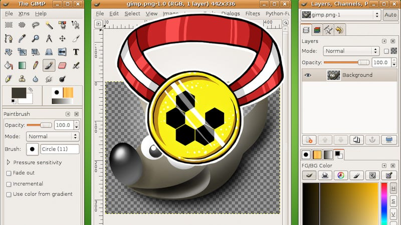 Most Popular Photoshop Alternative: GIMP