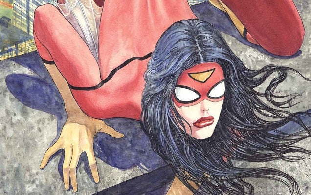 That Infamous Spider-Woman Cover Rendered In 3D Is A Flesh Nightmare