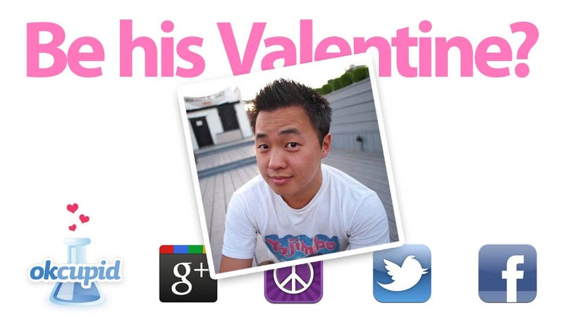 The Best Place to Get a Last-Minute Internet Valentine's Date (A Real-Time Experiment)