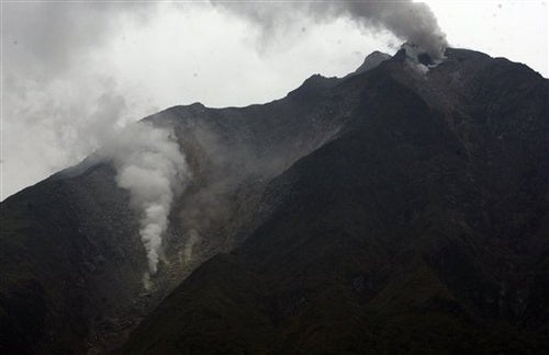 Indonesian volcano erupts for the first time in over 400 years