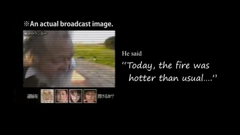 Report: Japanese TV Burned Old Man. There Was a Cover-Up.
