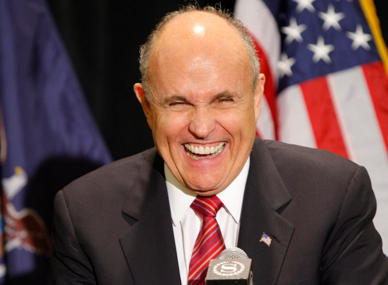 Rudy Giuliani Proudly Supports Iranian Terrorist Group