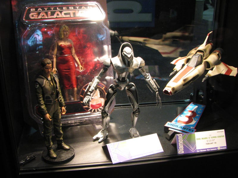 An Overload Of Scifi Toys