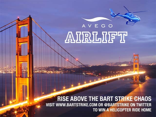 Startup to SF: Just Avoid that Pesky Transit Strike via Helicopter!