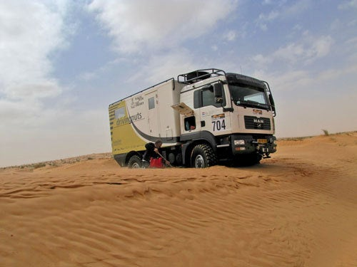Dakar Support Trucks As Cool As The Racers