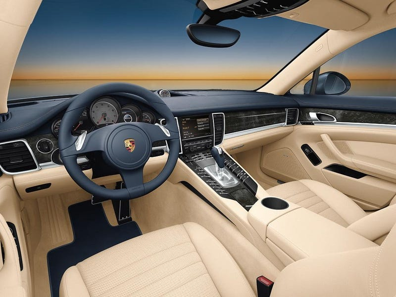 Porsche Panamera, Turbo Shows Us Insides, Starts At $89,800