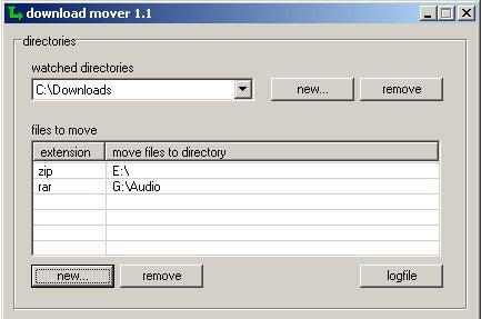 Download Mover Automatically Sorts Incoming Files
