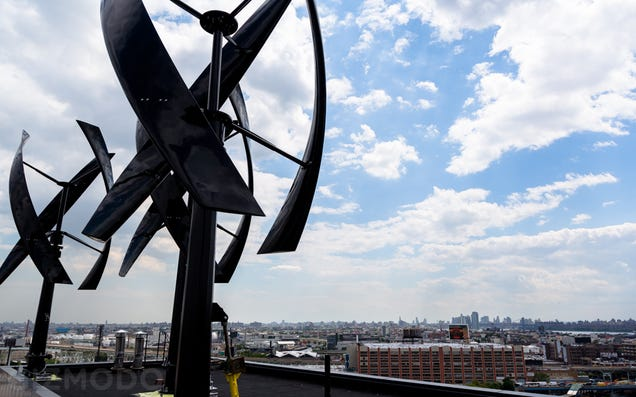 A Nosebleed Tour of the Wind Turbines Taking Over NYC's Rooftops
