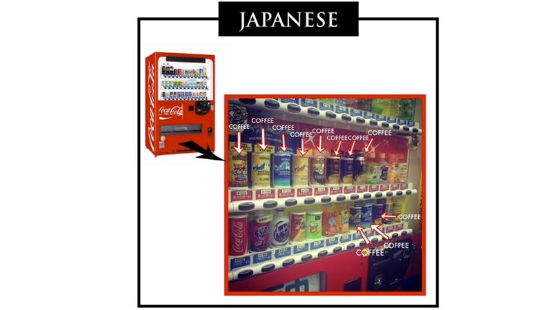 The Difference Between Japanese and American Vending Machines