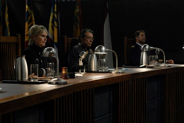 Who Was Guilty of Misconduct During Gaius Baltar's Trial?