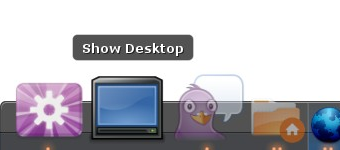 "Create a ""Show Desktop"" Shortcut in Linux"