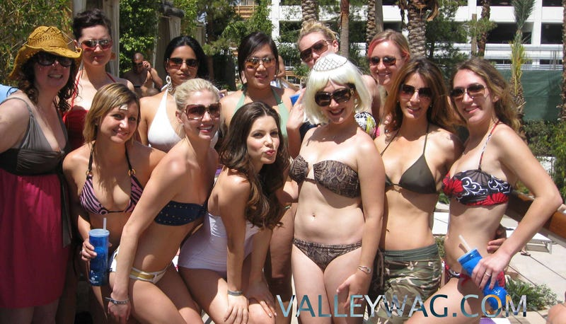 Facebook NSFW! Julia Allison and other pics from Randi Zuckerberg's Vegas bachelorette