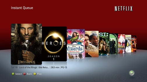 Netflix Lets You Add to Queue on Xbox, Video Store Gets 1080p