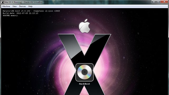 How to Run Mac OS X Inside Windows Using VirtualBox