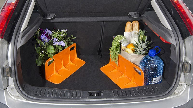Clever Trunk Dividers Stop Your Groceries From Taking a Wild Ride