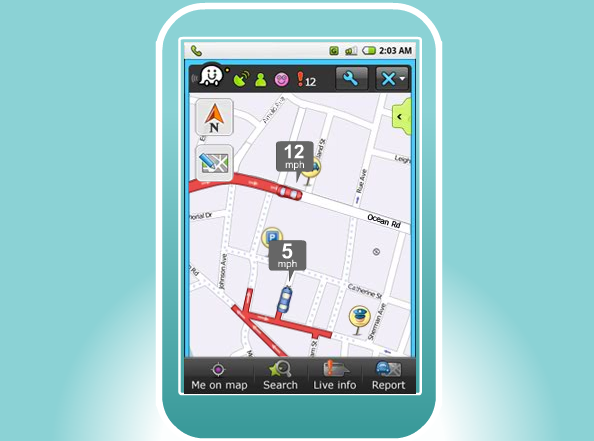 Free Waze App Turns GPS Navigation Into a Social Cellphone Game