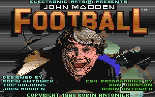 John Madden Is A Maniac