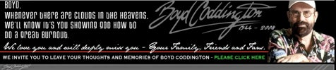 Boyd Coddington's Website Updated, Includes Forum For Final Thoughts