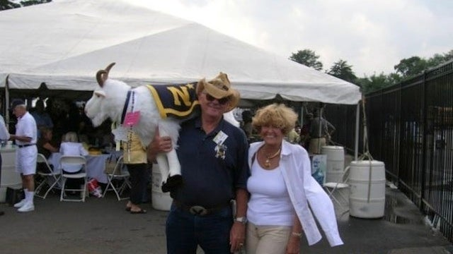 Stuffed Goat Mascot Stolen From Navy Tailgate