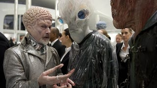 Make Up Legend Rick Baker (left in the picture) retires....