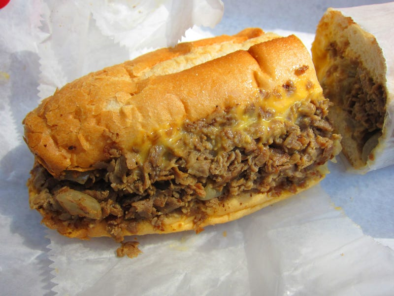 I had a cheesesteak for lunch
