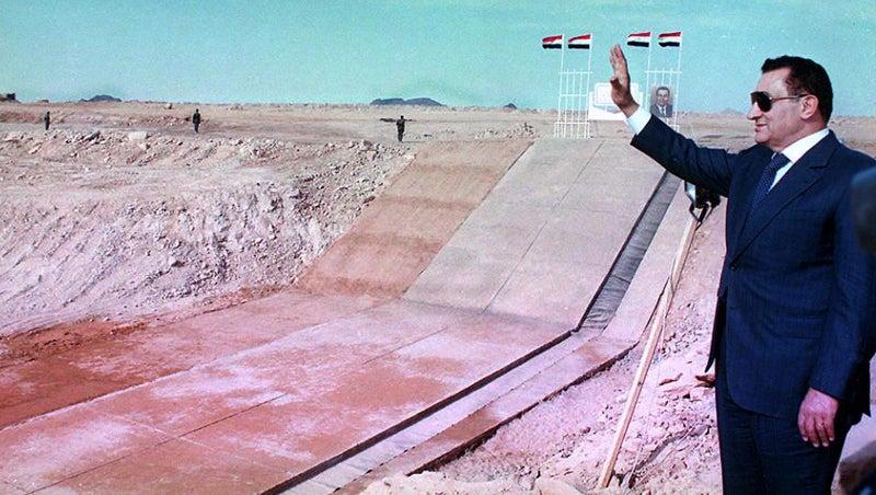 Hosni Mubarak: A Life in Pictures