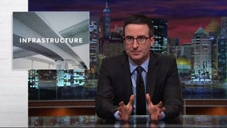 John Oliver Reminds Us That America's Bridges Are Shit, and No One Cares