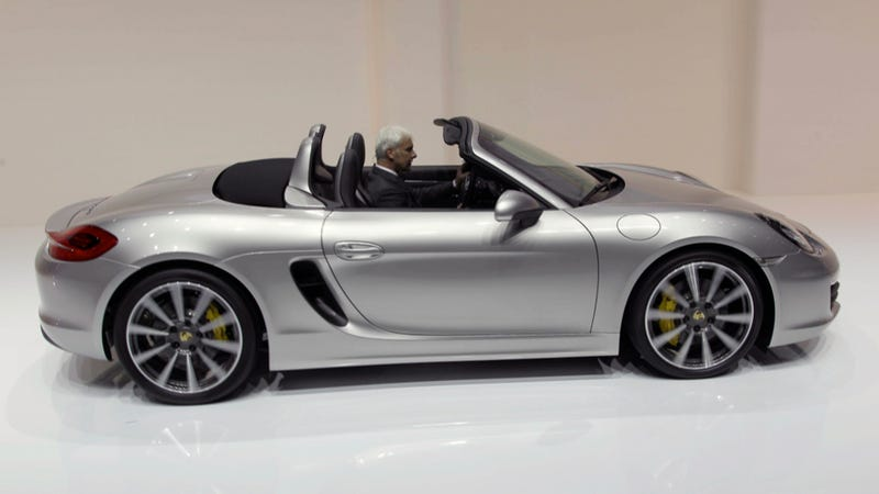 2013 Porsche Boxster: Entry-Level Slot Car Gets Electric Steering, Less Weight, More Power